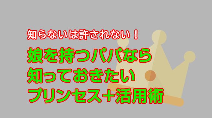 プリンセス+活用術